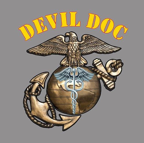 Devil Doc decal