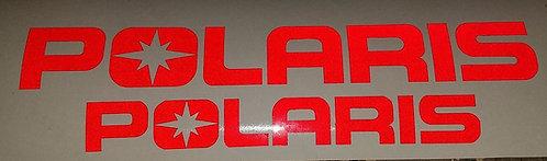 Polaris Decal Set Reflective Red,Blue,Yellow.White