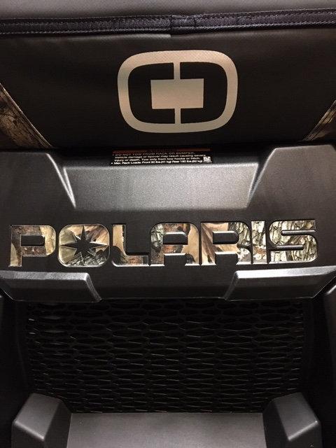 Polaris Front & Rear Decal Set in CAMO