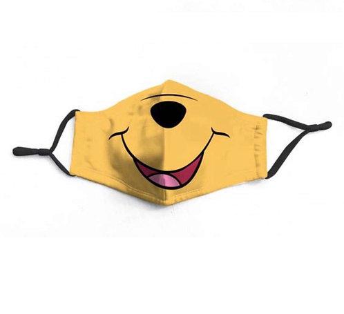 Honey Pooh Character Face-Mask