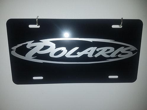 Polaris License Plate Full Size