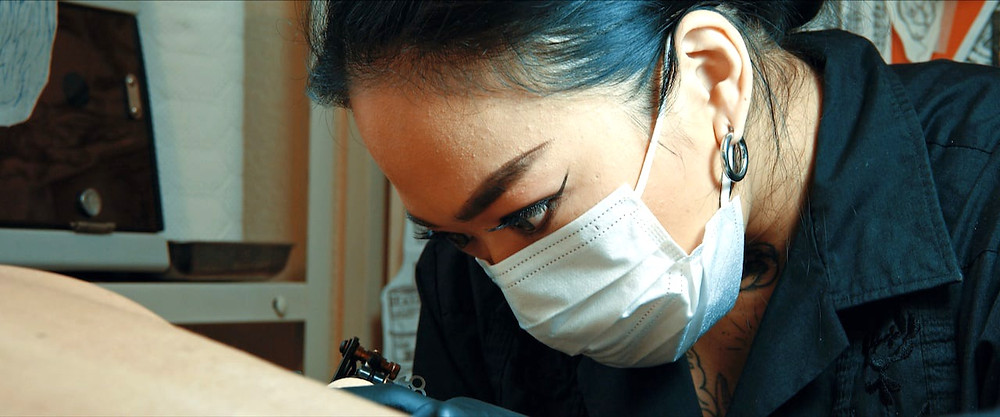 tattoo artist in Tokyo monologue365 モノローグ365