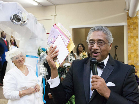 Vow Renewal with Apostle Louis Greenup at Love Abiding Christian Church