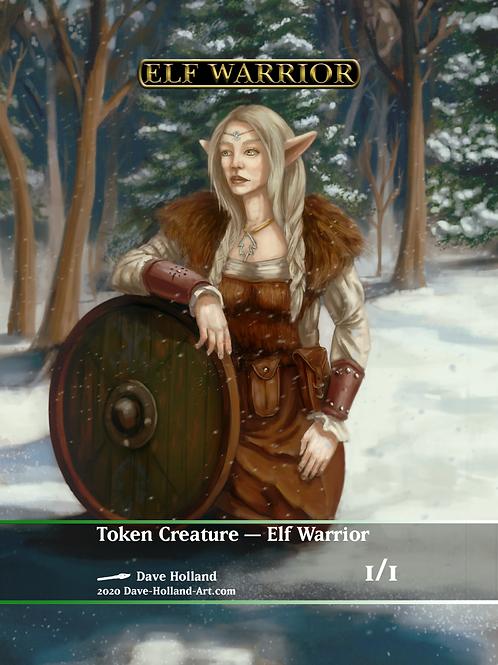 Elf Warrior GW 1/1 Token