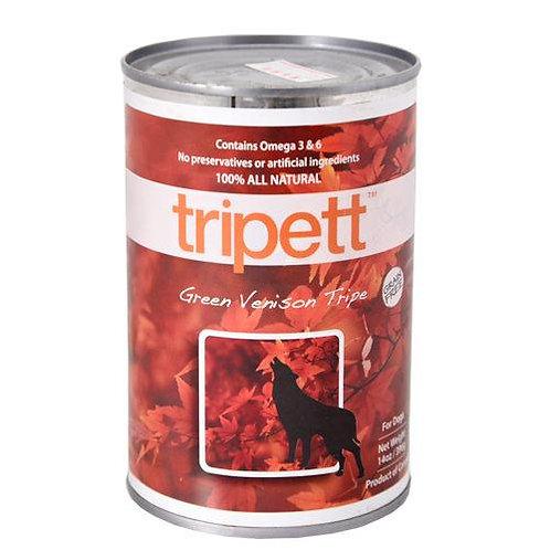 【PetKind Tripett 】ペットカインド トライペット グリーンベニソントライプ缶 396g