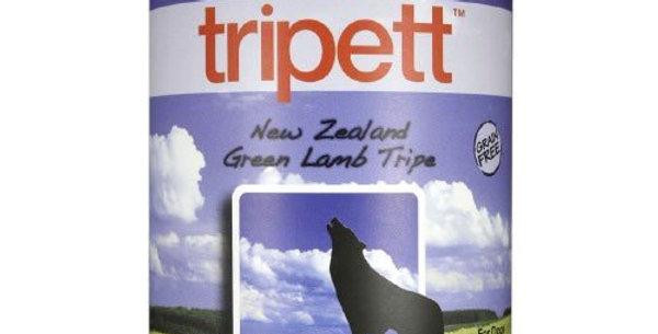 【PetKind Tripett 】ペットカインド トライペット ニュージーランドグリーンラムトライプ缶 396g