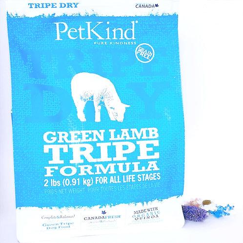 【PetKind Green Tripe 】ペットカインド グリーンラムトライプ 907g/2.7Kg/6.36Kg/11.34Kg