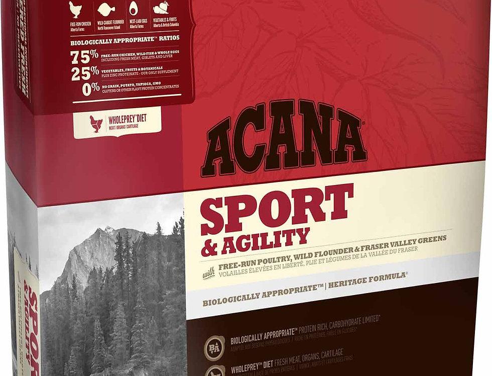 アカナ ヘリテージ(ACANA Sport & Agility)スポーツ&アジリティ 11.4kg