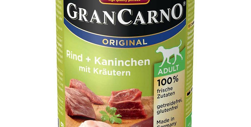 アニモンダ グランカルノ(animonda grancarno)成犬 牛肉・ウサギ・パセリ 400g