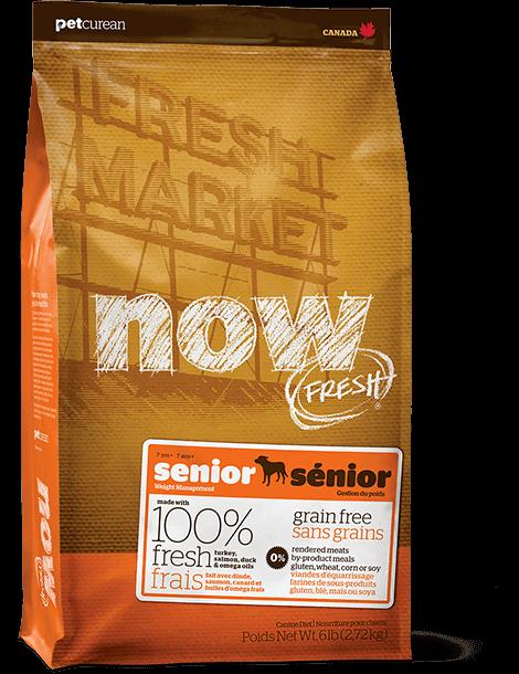 【NOW FRESH Grain Free】シニア&ウェイトマネジメント ドッグ