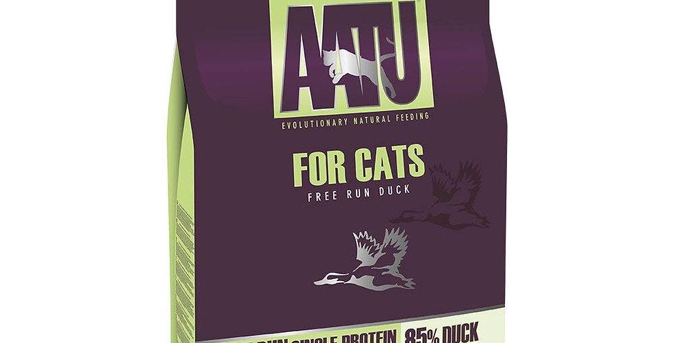 【AATU】アートゥー 85%平飼いダック(成猫用ドライフード/総合栄養食)