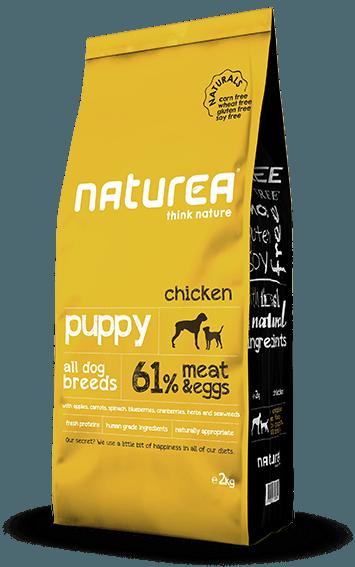 【Naturea】ナチュレア ナチュラルズ パピー ドライフード 総合栄養食 (鶏肉/仔犬用)