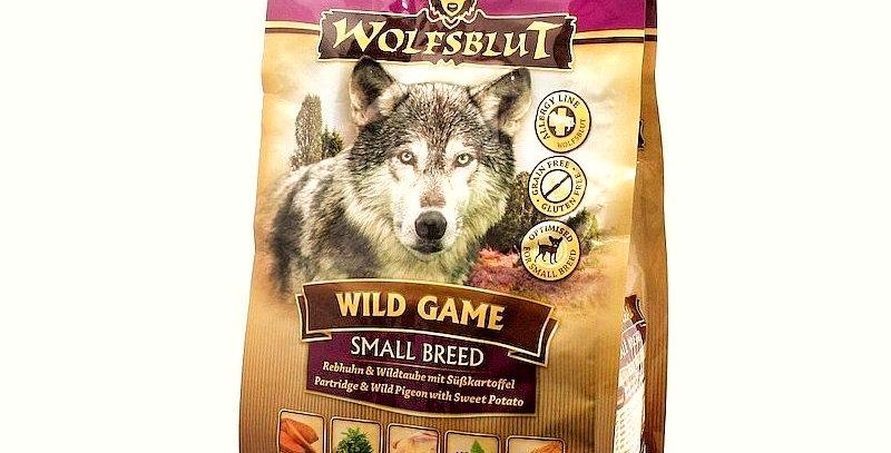 【WOLFSBLUT】ウルフブラット ワイルドゲーム スモールブリード(野鳥)小粒タイプ 2kg