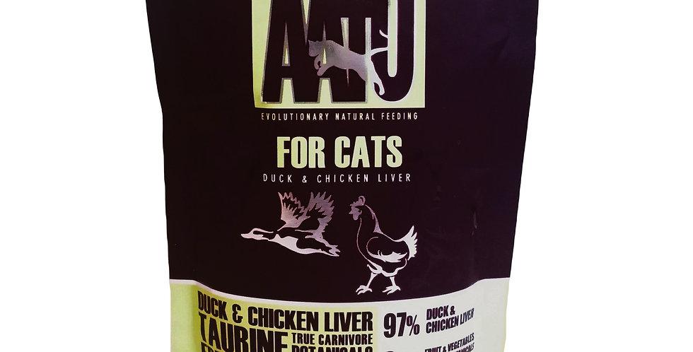 【AATU】アートゥー  97%ダック&チキン・レバー (成猫用ウェットフード/総合栄養食) 85g