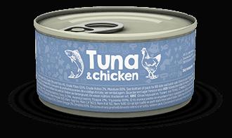 【Naturea】ナチュレア 猫缶  ツナ&チキン 85g