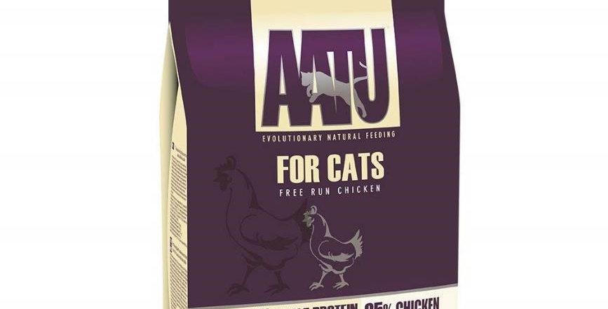 【AATU】アートゥー 85%平飼いチキン(成猫用ドライフード/総合栄養食)
