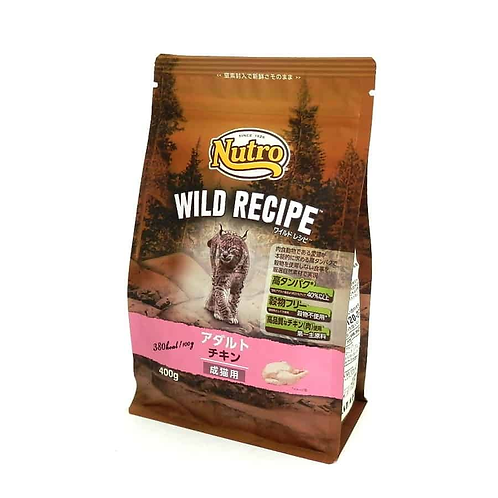 【Nutro WILD RECIPE】 ワイルドレシピ 成猫用 アダルト チキン