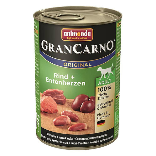 アニモンダ グランカルノ(animonda grancarno)成犬 牛肉・鴨心臓 400g