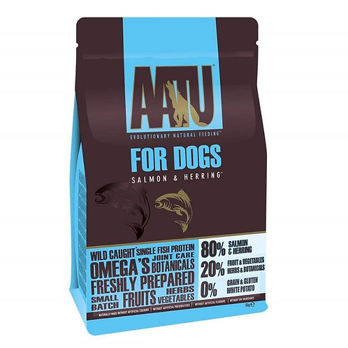 【AATU】アートゥー 80% サーモン&ニシン  5kg