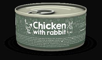 【Naturea】ナチュレア 猫缶  チキン&ウサギ 85g