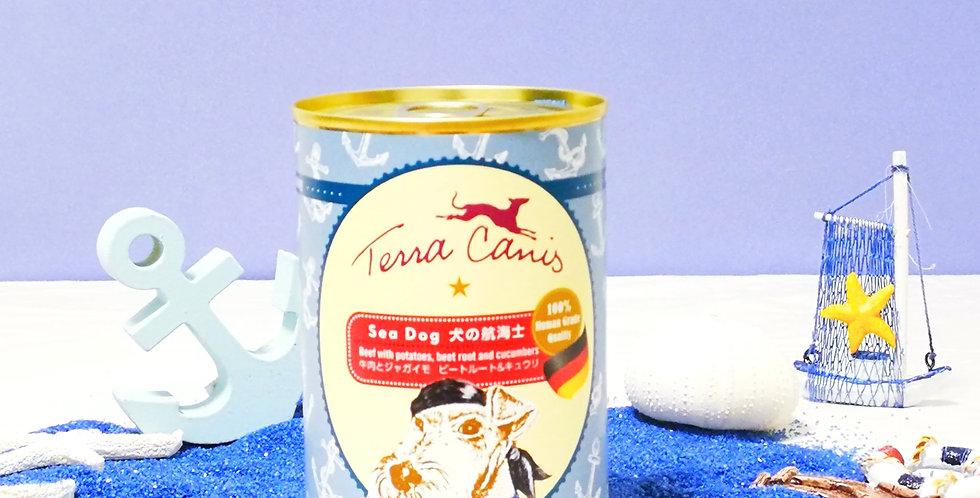 【TerraCanis】 テラカニス 犬の航海士 牛肉とジャガイモ ビートルート&キュウリ シードッグ 400g