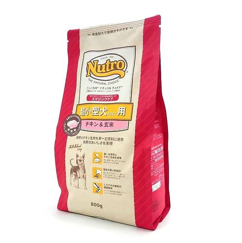 【Nutro Natural Choice】ナチュラルチョイス エイジングケア チキン&玄米