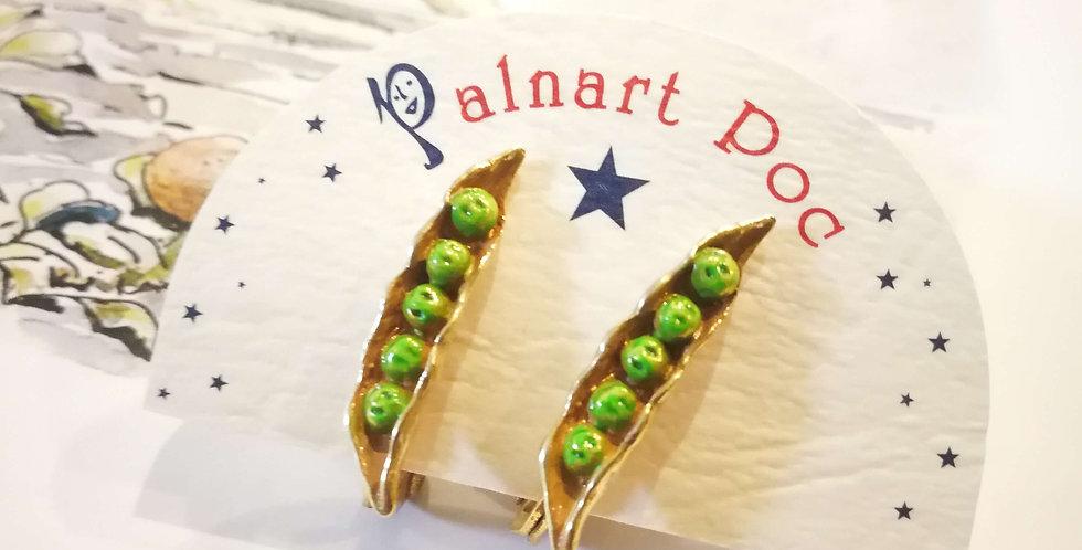 【Palnart Poc/Brough Superior】パルナートポック 枝豆イヤリング