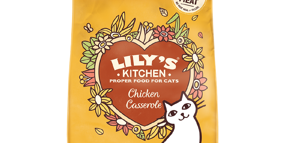 Lily's Kitchen(リリーズキッチン)キャット 成猫 チキン キャセロール CAT 1kg
