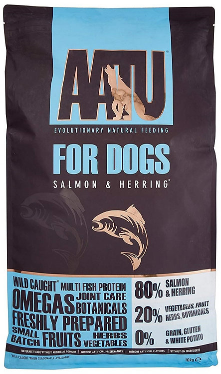【AATU】アートゥー 80% サーモン&ニシン 10kg