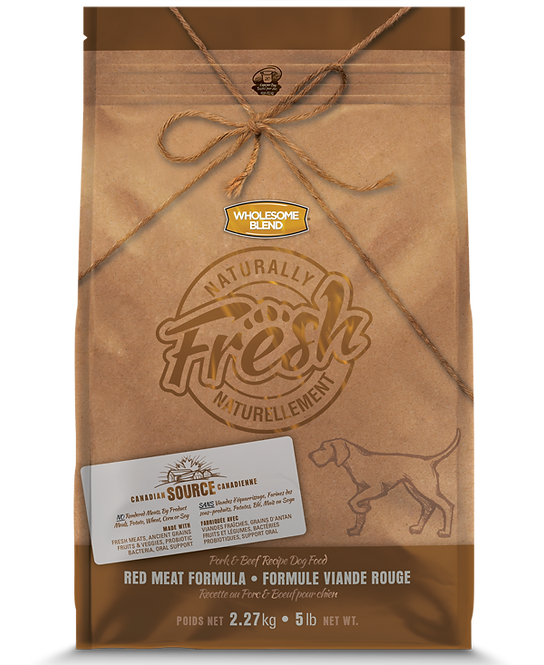 【Naturally Fresh】ナチュラリーフレッシュ ポーク&ビーフ 2.27kg