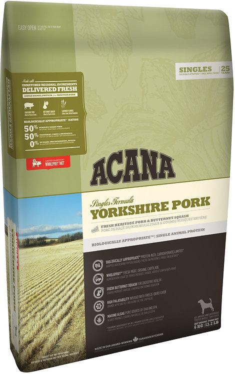 アカナ シングル(ACANA Yorkshire Pork) ヨークシャーポーク