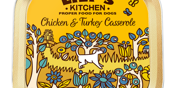 Lily's Kitchen(リリーズキッチン) チキンとターキーのキャセロール ドッグ(個別日本語ラベルなし)