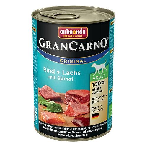 アニモンダ グランカルノ(animonda grancarno)成犬 牛肉・サーモン・野菜 400g