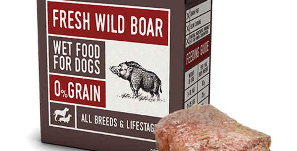 【Naturea】ナチュレア 犬用ウェットフード ワイルドボア(グレインフリー/総合栄養食)375g
