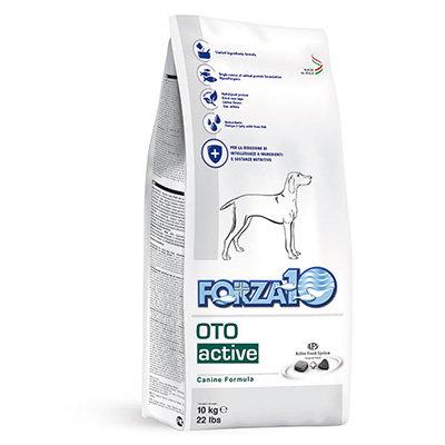 【Forza10】フォルツァディエチ オトアクティブ (外耳炎ケア療法食)10kg