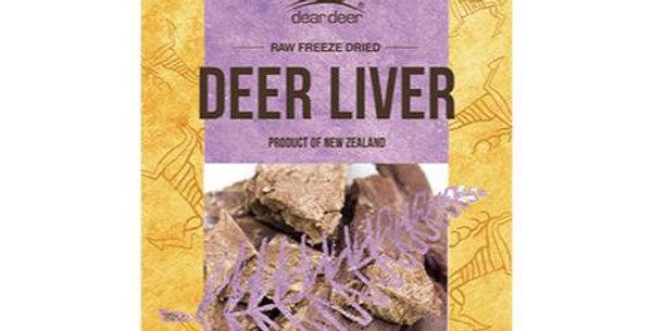 【dear deer】ディアディア レバー(鹿の肝臓)50g