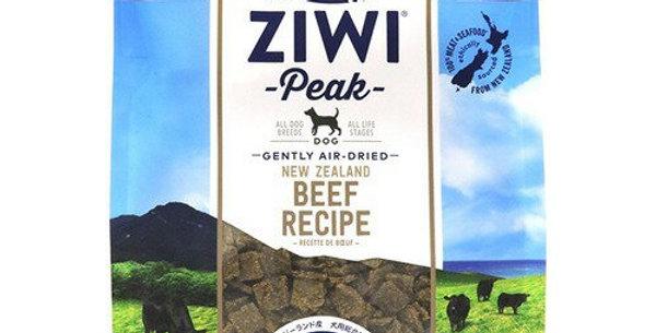 【ZiwiPeak Air-Dried Dog Food Beef 】ジウィピーク エアドライ ドッグフード NZグラスフェッドビーフ