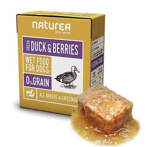 【Naturea】ナチュレア 犬用ウェットフード ダック&ベリー(グレインフリー/総合栄養食)375g
