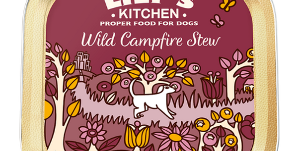 Lily's Kitchen(リリーズキッチン) 野生のキャンプファイヤーシチュー ドッグ(個別日本語ラベルなし)