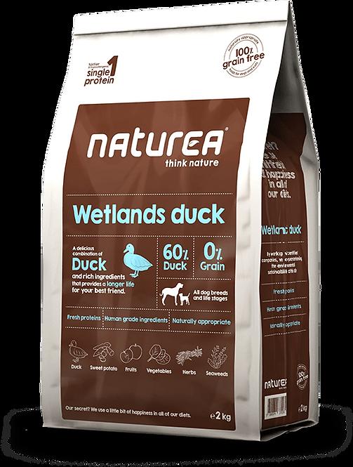 【Naturea】Wetlands Duck ウェットランズ ダック(鴨肉/全犬種/成犬用)
