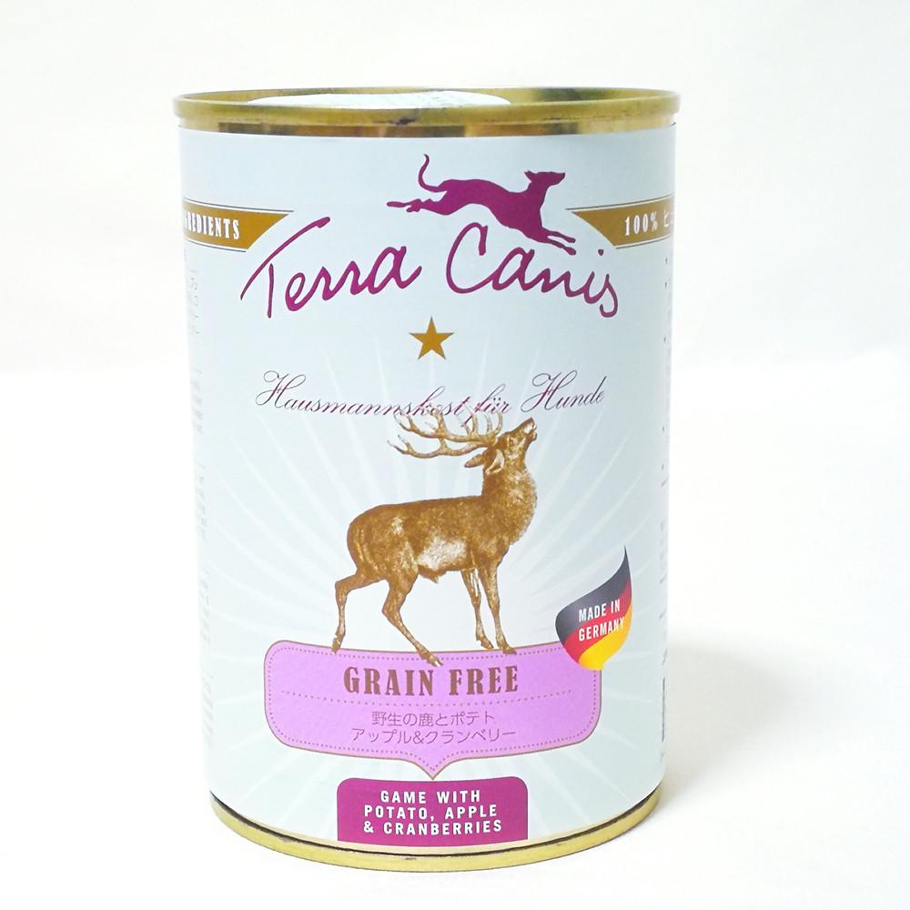 テラカニス グレインフリー 鹿肉