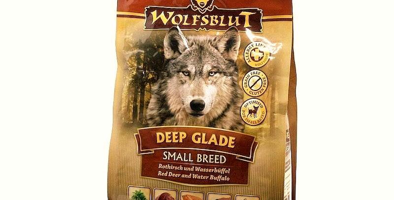 【WOLFSBLUT】ウルフブラット ディープグレード スモールブリード(鹿肉&バッファロー肉) 2kg