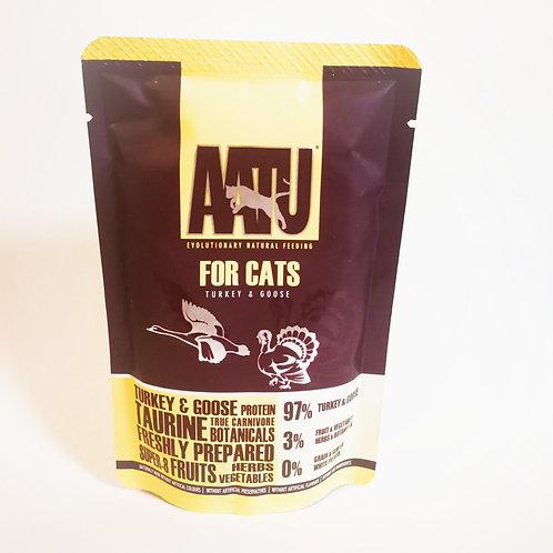 【AATU】アートゥー  97%ターキー&グース (成猫用ウェットフード/総合栄養食) 85g
