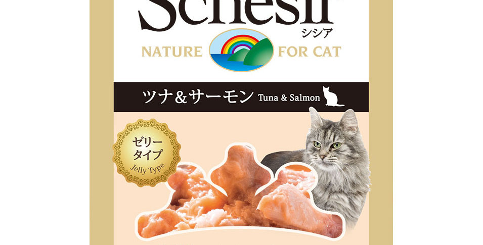 【Schesir】シシア 猫 パウチ(ツナ&サーモン) 50g