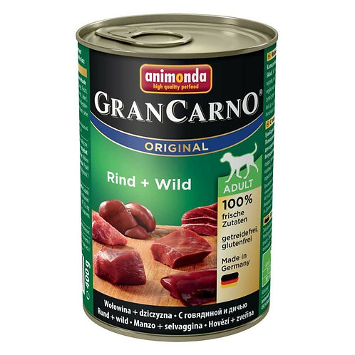 アニモンダ グランカルノ(animonda grancarno)アダルト 牛肉・野鳥獣 400g