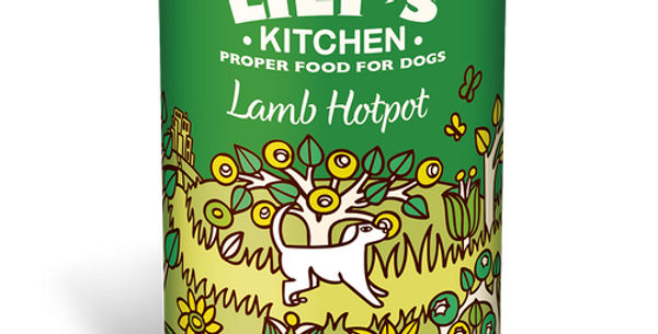 Lily's Kitchen(リリーズキッチン)  子羊のホットポット ドッグ 400g(個別日本語ラベルなし)