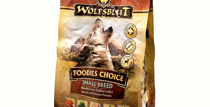 【WOLFSBLUT】ウルフブラット フーディーズチョイス スモールブリード(ウズラ肉)2kg