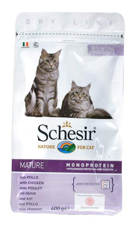 【Schesir】シシア シニア猫用ドライフード Mature チキン 400g