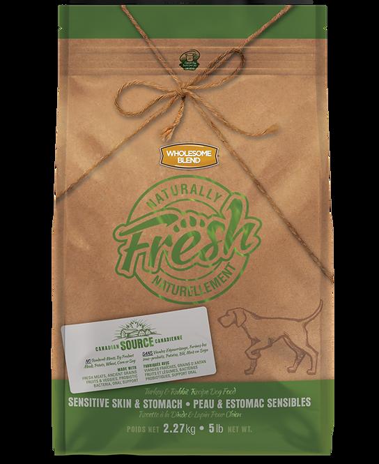 【Naturally Fresh】ナチュラリーフレッシュ ターキー&ラビット