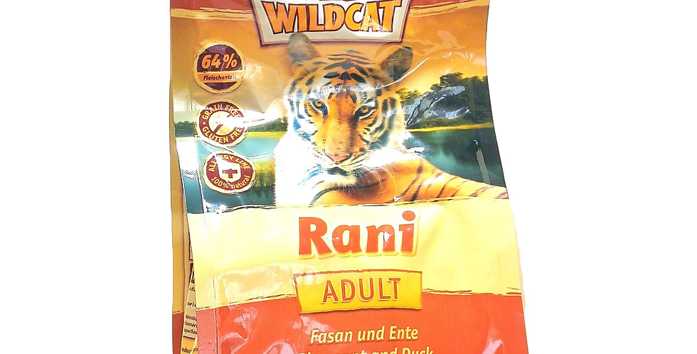 【Wildcat】ワイルドキャット・ラニ 成猫用 500g
